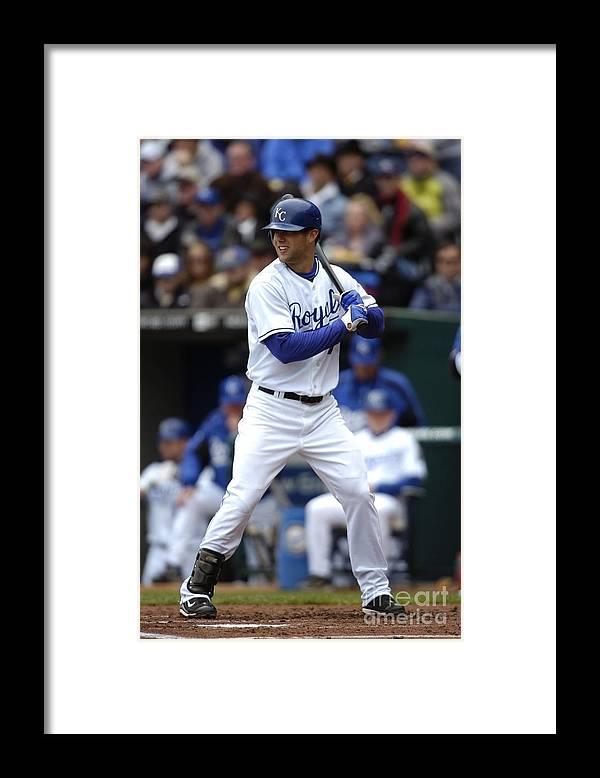 American League Baseball Framed Print featuring the photograph Alex Gordon by John Williamson