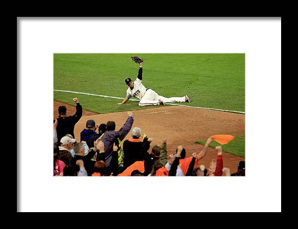 San Francisco Framed Print featuring the photograph Alex Gordon by Rob Carr