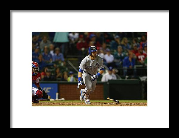 American League Baseball Framed Print featuring the photograph Alex Gordon by Ronald Martinez
