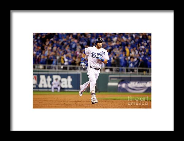 Ninth Inning Framed Print featuring the photograph Alex Gordon by Sean M. Haffey