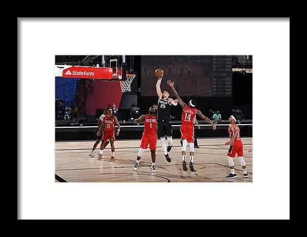 Nba Pro Basketball Framed Print featuring the photograph Alex Len by Joe Murphy