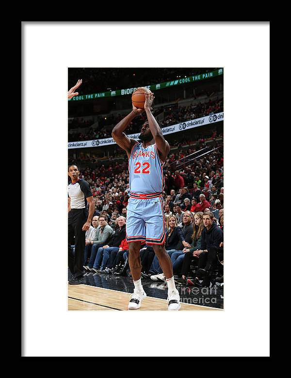 Nba Pro Basketball Framed Print featuring the photograph Alex Poythress by Gary Dineen