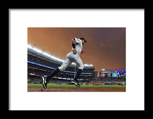 People Framed Print featuring the photograph Alex Rodriguez by Drew Hallowell