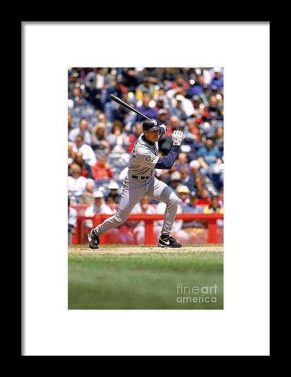 People Framed Print featuring the photograph Alex Rodriguez by John Williamson
