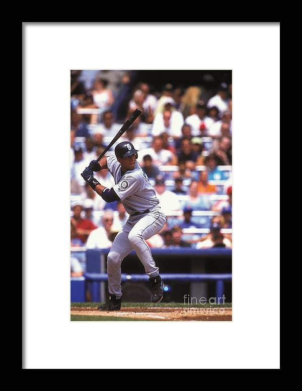 People Framed Print featuring the photograph Alex Rodriguez by Mitchell Layton