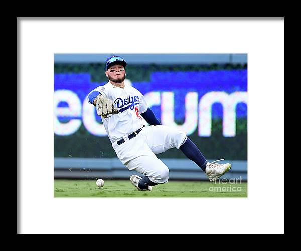 People Framed Print featuring the photograph Alex Verdugo and Amed Rosario by Harry How