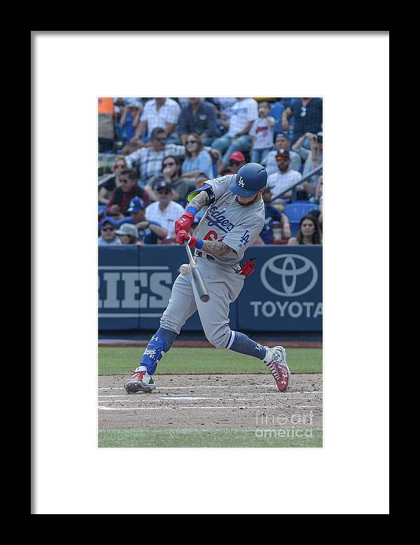 People Framed Print featuring the photograph Alex Verdugo by Azael Rodriguez