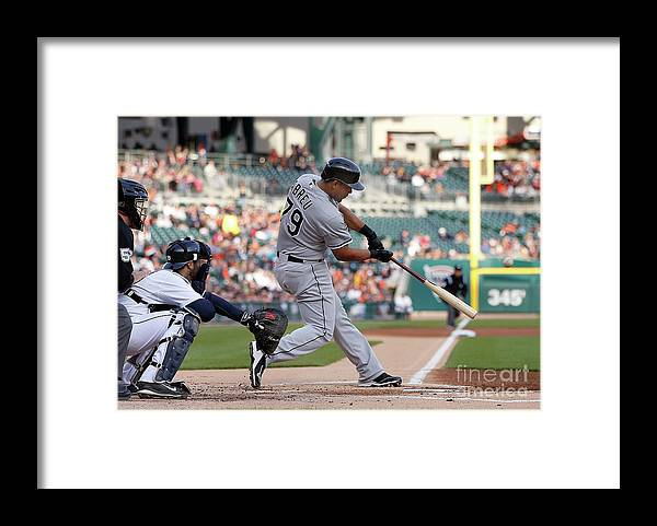American League Baseball Framed Print featuring the photograph Alex White by Gregory Shamus