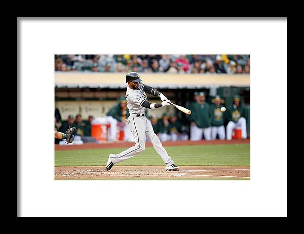 People Framed Print featuring the photograph Alexei Ramirez by Ezra Shaw