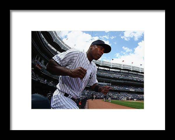 Alfonso Soriano Framed Print featuring the photograph Alfonso Soriano by Al Bello