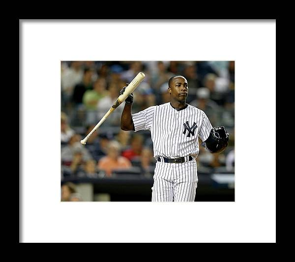 Alfonso Soriano Framed Print featuring the photograph Alfonso Soriano by Elsa