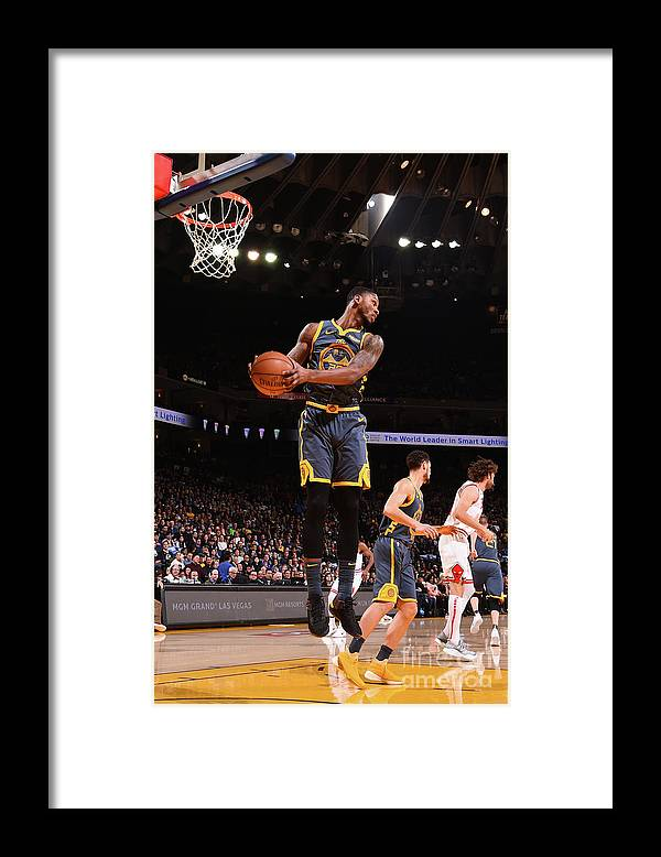 Alfonzo Mckinnie Framed Print featuring the photograph Alfonzo Mckinnie by Noah Graham