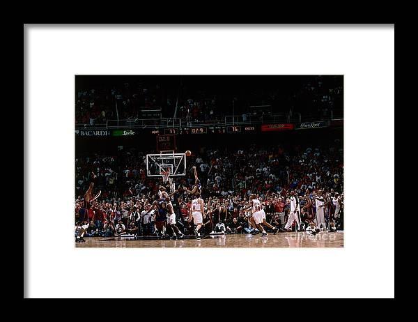 Playoffs Framed Print featuring the photograph Allan Houston by Fernando Medina