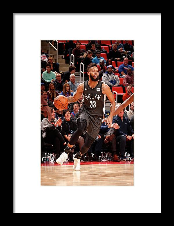 Nba Pro Basketball Framed Print featuring the photograph Allen Crabbe by Brian Sevald