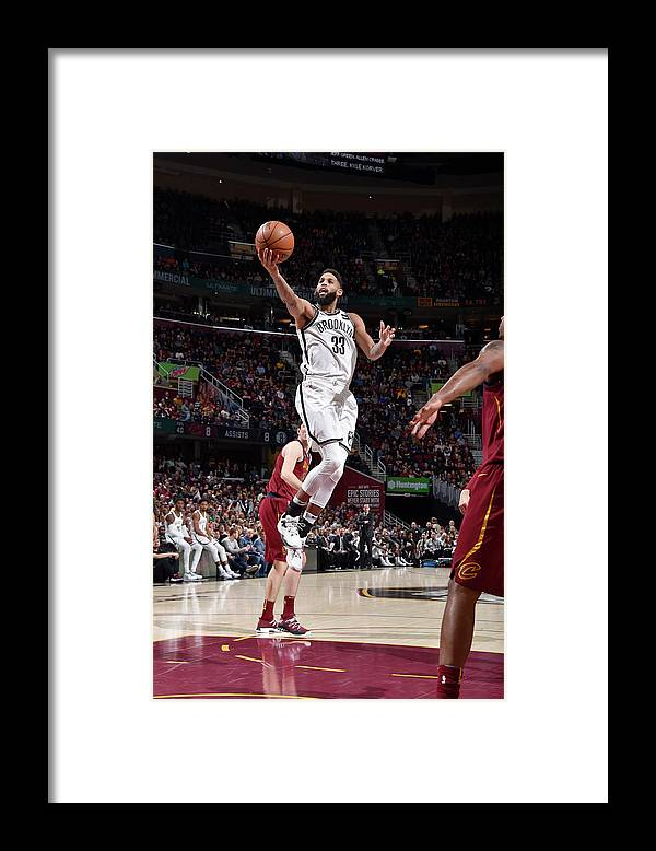 Nba Pro Basketball Framed Print featuring the photograph Allen Crabbe by David Liam Kyle