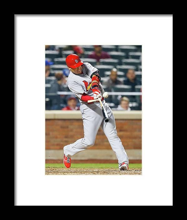 St. Louis Cardinals Framed Print featuring the photograph Allen Craig by Jim Mcisaac
