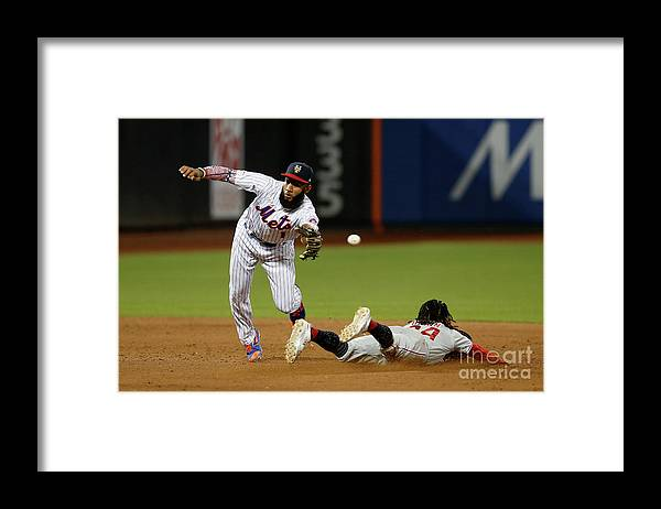 People Framed Print featuring the photograph Amed Rosario by Jim Mcisaac