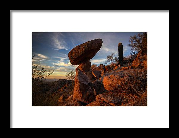 Photography Framed Print featuring the photograph Ancient Ones by Kati Astraeir