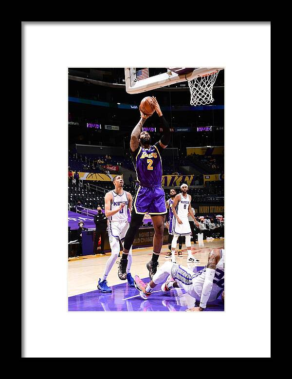 Nba Pro Basketball Framed Print featuring the photograph Andre Drummond by Adam Pantozzi