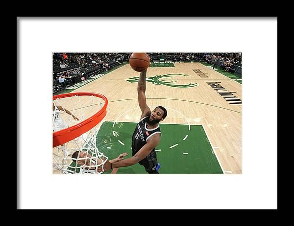 Playoffs Framed Print featuring the photograph Andre Drummond by Gary Dineen