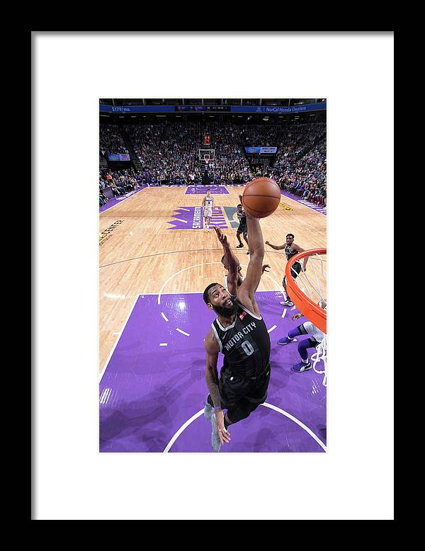 Nba Pro Basketball Framed Print featuring the photograph Andre Drummond by Rocky Widner