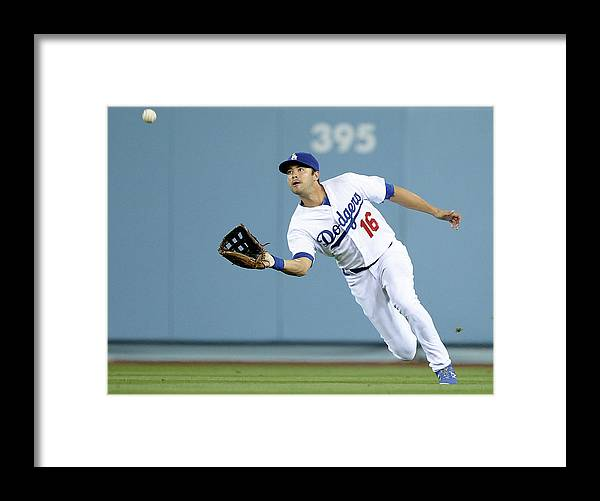 California Framed Print featuring the photograph Andre Ethier and Chris Owings by Harry How