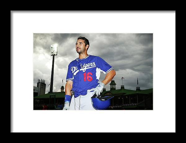 Season Framed Print featuring the photograph Andre Ethier by Matt King
