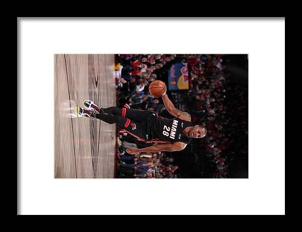 Nba Pro Basketball Framed Print featuring the photograph Andre Iguodala by Cameron Browne