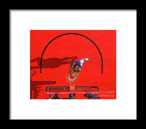 Playoffs Framed Print featuring the photograph Andre Iguodala by Mark Blinch