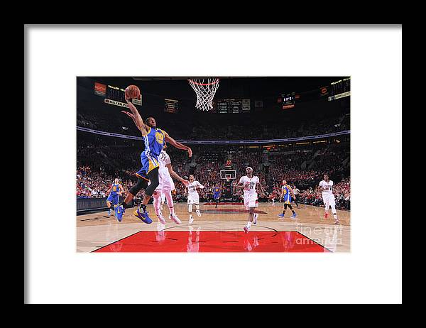 Playoffs Framed Print featuring the photograph Andre Iguodala by Sam Forencich