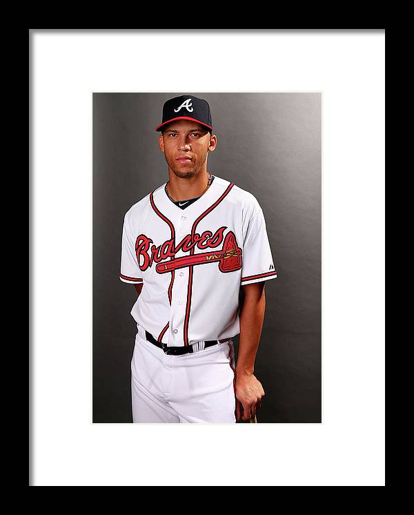 Media Day Framed Print featuring the photograph Andrelton Simmons by Elsa