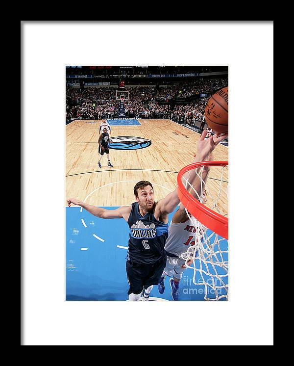 Nba Pro Basketball Framed Print featuring the photograph Andrew Bogut by Glenn James