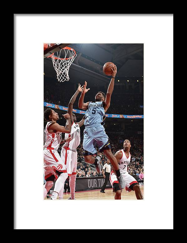 Nba Pro Basketball Framed Print featuring the photograph Andrew Harrison by Ron Turenne