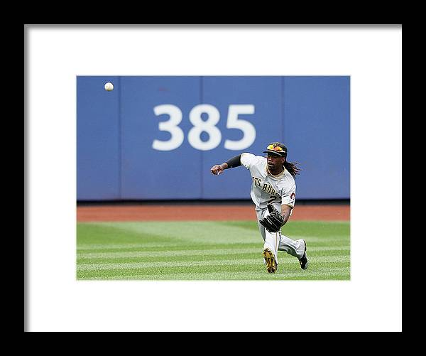 American League Baseball Framed Print featuring the photograph Andrew Mccutchen by Alex Trautwig