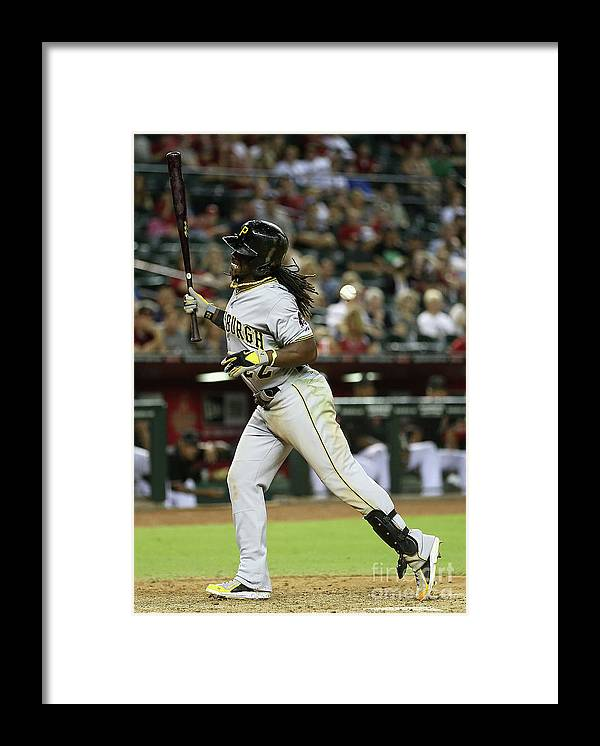 Ninth Inning Framed Print featuring the photograph Andrew Mccutchen by Christian Petersen