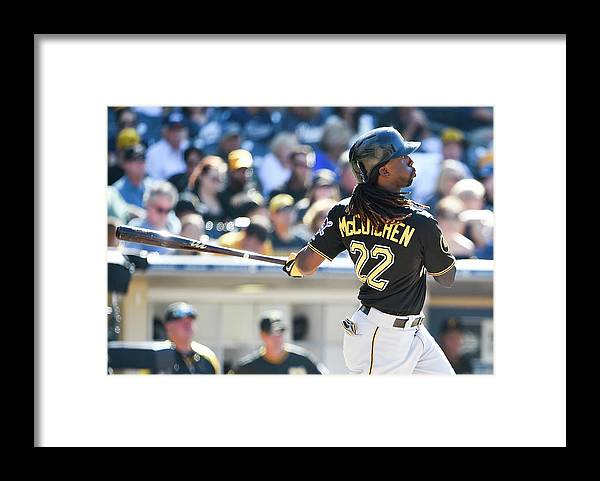 California Framed Print featuring the photograph Andrew Mccutchen by Denis Poroy