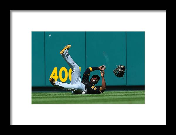 St. Louis Cardinals Framed Print featuring the photograph Andrew Mccutchen by Dilip Vishwanat