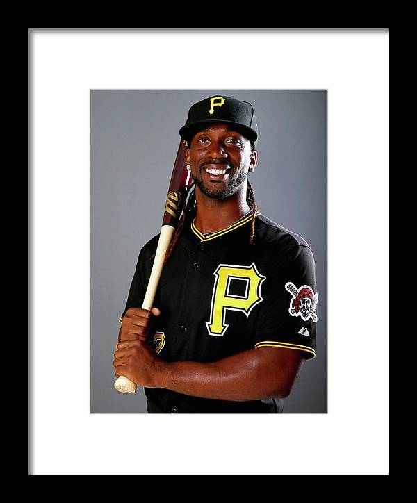 Media Day Framed Print featuring the photograph Andrew Mccutchen by Elsa