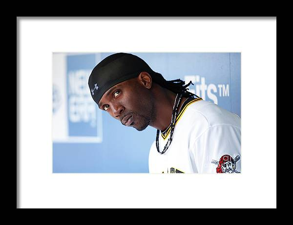 Pnc Park Framed Print featuring the photograph Andrew Mccutchen by Joe Robbins