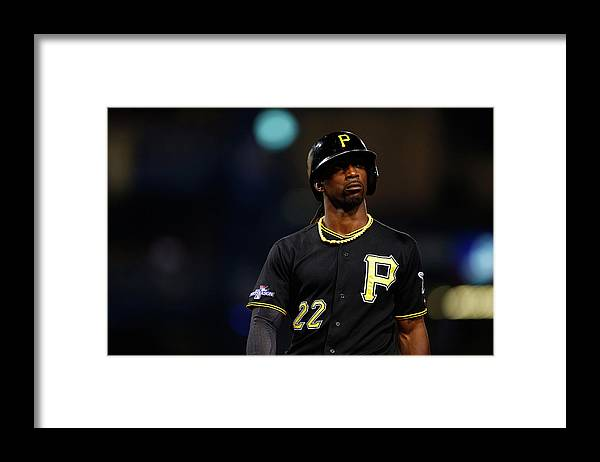 American League Baseball Framed Print featuring the photograph Andrew Mccutchen by Justin K. Aller