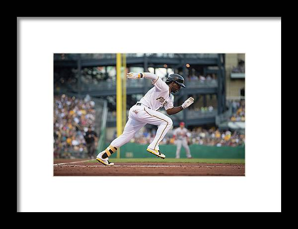 Pnc Park Framed Print featuring the photograph Andrew Mccutchen by Rob Tringali