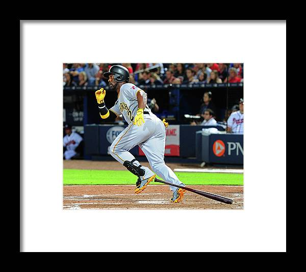 Atlanta Framed Print featuring the photograph Andrew Mccutchen by Scott Cunningham