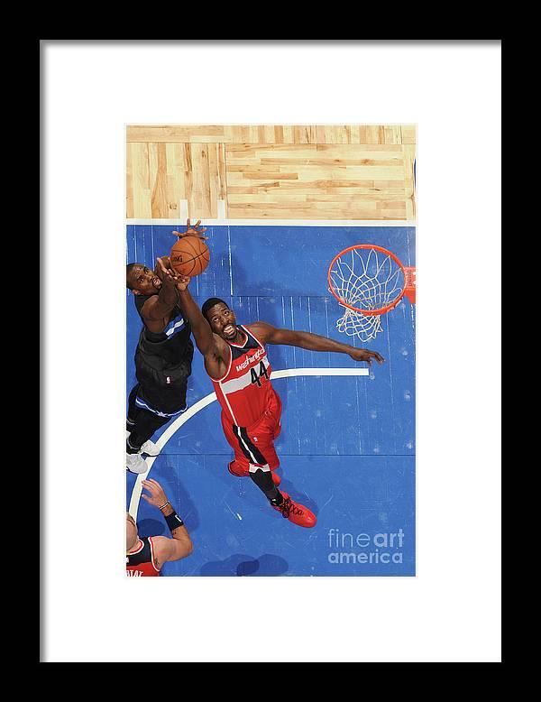 Nba Pro Basketball Framed Print featuring the photograph Andrew Nicholson by Fernando Medina