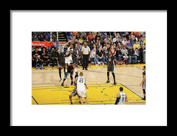 Nba Pro Basketball Framed Print featuring the photograph Andrew Wiggins by Andrew D. Bernstein