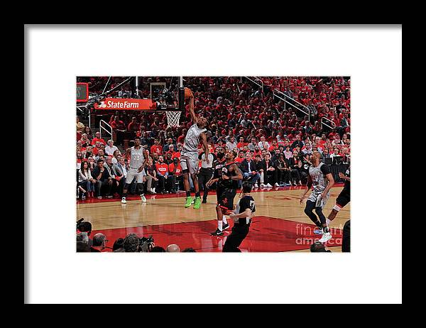 Playoffs Framed Print featuring the photograph Andrew Wiggins by Bill Baptist