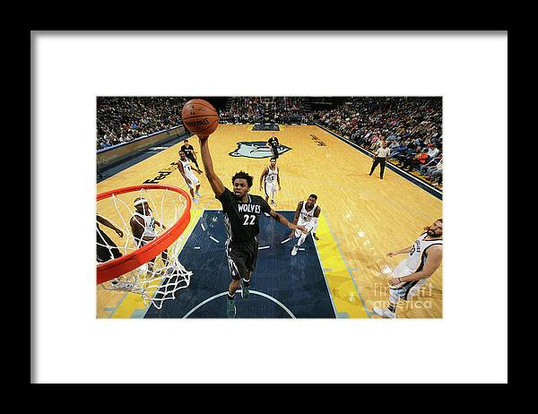 Nba Pro Basketball Framed Print featuring the photograph Andrew Wiggins by Joe Murphy