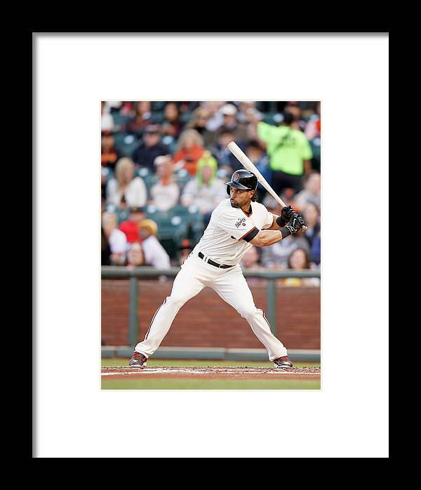 San Francisco Framed Print featuring the photograph Angel Pagan by Ezra Shaw