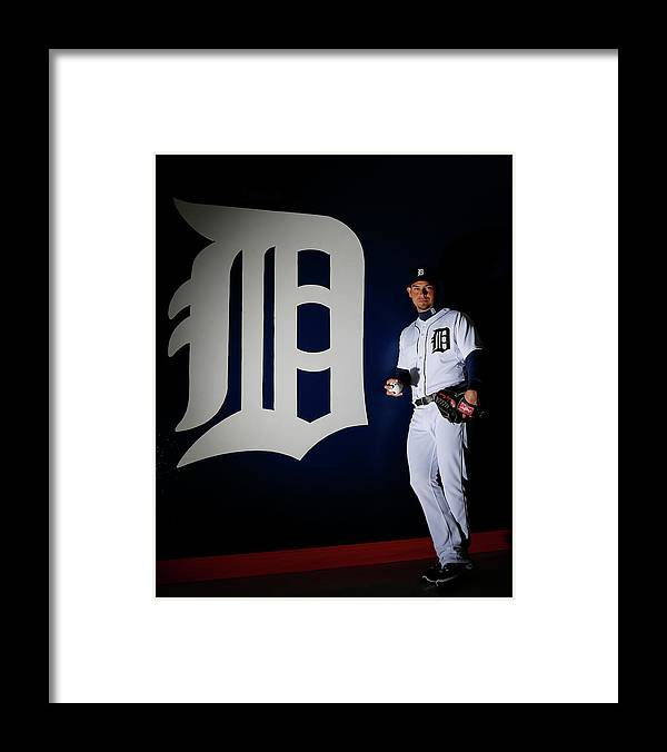 Media Day Framed Print featuring the photograph Anibal Sanchez by Kevin C. Cox