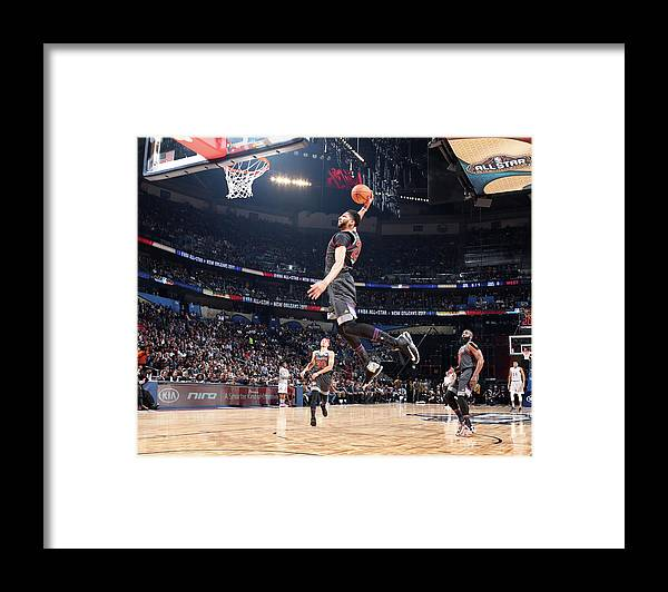 Event Framed Print featuring the photograph Anthony Davis by Nathaniel S. Butler