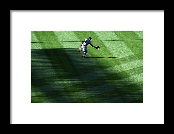 Second Inning Framed Print featuring the photograph Anthony Gose by Harry How